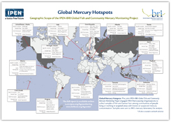 Global Mercury Monitoring Poster