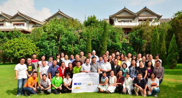 Group photo of Kunming workshop participants