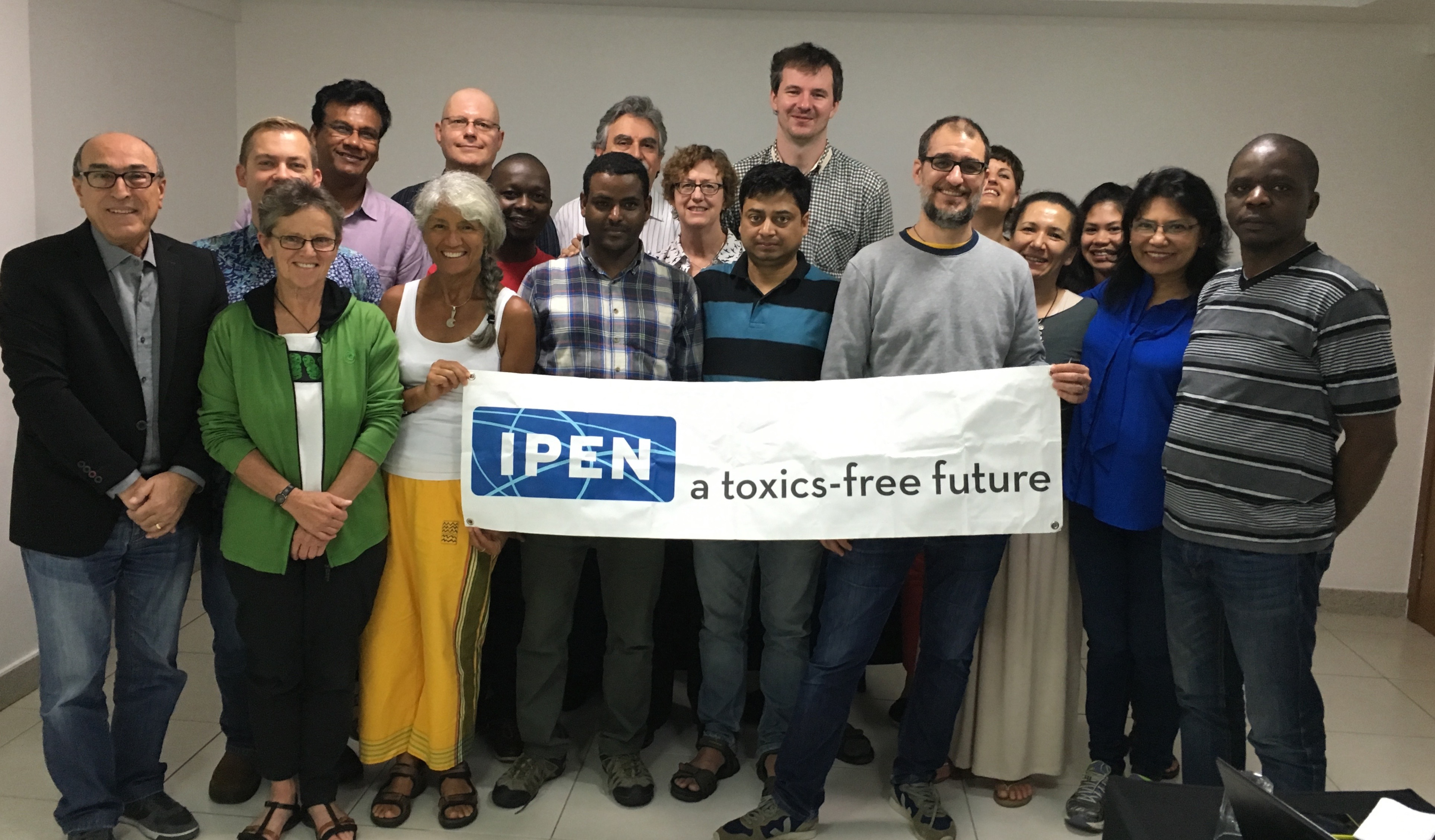 The IPEN team in Brasilia