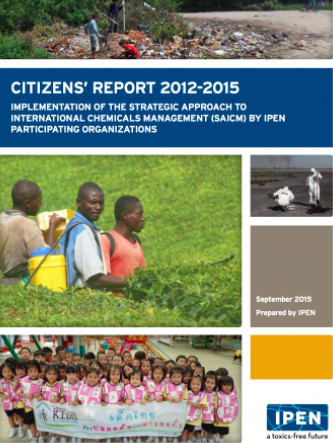 Citizens' Report 2012 - 2015 cover