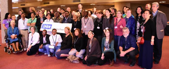 Group photo at IPEN prep meeting (Photo by John Wickens)